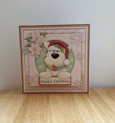 Westie Christmas Card Shabby Chic Christmas by TheBlenheimCardCo