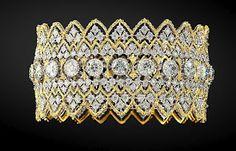 Bucellati gold bangle - Fine Jewelry