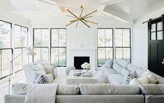 Living Room Designs, Living Room Decor, Living Rooms, Lakeside Living, Lakeside Cottage, Cottage Interiors, Living Styles, Cottage Living, Living Room Inspiration