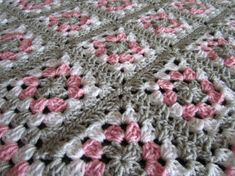 Pink Gray Baby Granny Square Blanket by DonnasPinsandNeedles, $48.50  https://www.etsy.com/listing/184750359/pink-gray-baby-granny-square-blanket?ref=sr_gallery_38&ga_order=date_desc&ga_view_type=gallery&ga_ref=fp_recent_more&ga_page=21&ga_search_type=all