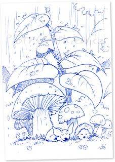 Z długopisa: No i pada...
