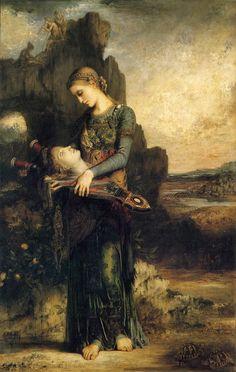 Gustave Moreau, Orphée (1865), musée d'Orsay, Paris.