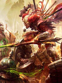 Fantasy Art: Kalisto - 2D Digital, FantasyCoolvibe – Digital Art