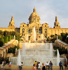 Barcelona Spain. I've been here and can not wait to go back.