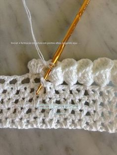 Crochet Petal Cone Edging. More #CrochetEdging