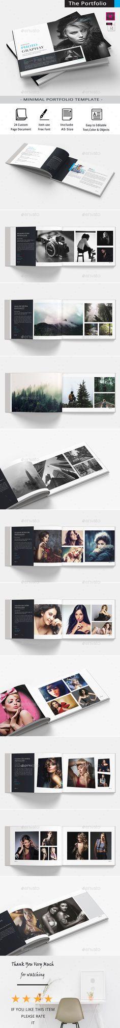 The Portfolio Photography - Portfolio Brochures Download here : https://graphicriver.net/item/the-portfolio-photography/19681606?s_rank=40&ref=Al-fatih