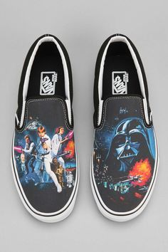8453e88b2c0 Vans X Star Wars Classic Slip-On Mens Sneaker - Urban Outfitters