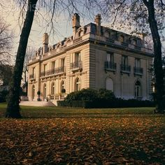 The Windsor's last home at 4 route du Champ d'Entraînement in the Bois de Boulogne.  The Windsors took over the house from General de Gaulle.