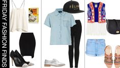 Friday Fashion Finds: Board 1