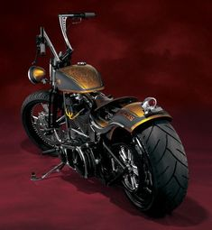 Custom. Using a 2001 HD Softail chassis as the foundation