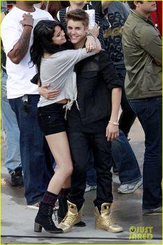 Selena Gomez y Justin Bieber