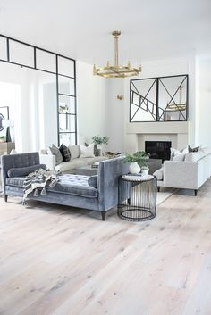 Living Room Progress, Styled for Summer – The House of Silver Lining – Room Mirrors Home Living Room, Living Room Designs, Living Room Decor, Living Room Mirrors, Spring Home Decor, Living Room Inspiration, Room Interior, Apartment Interior, Family Room