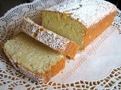Plumcake al limone | ricette con soli albumi | plumcake |
