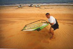Petite dunette sur la zone de Mahara en Mauritanie