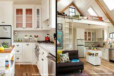 Tumbleweed Tiny Home Kitchen - I really like the open floor plan