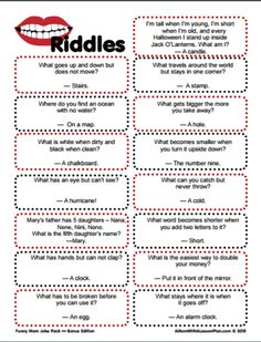 Clever Riddles for Kids with Answers (printable riddles!) #Stuff