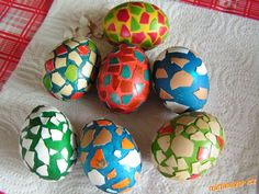 Kropenatá vajíčka snadná výroba pro děti
