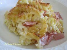 Pasta al forno con la besciamella
