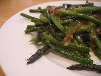 This asparagus was AMAZING at PF Chang's. I'm so glad I found the recipe.