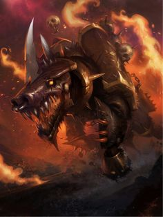 Resultado de imagen de warhammer 40000 juggernaut