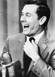Johnny Carson in the 60's; stayin up late to watch!
