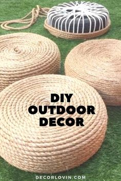 Diy Furniture, Outdoor Furniture, Furniture Projects, Diy Crafts For Home Decor, Outdoor Projects, Cool Diy Projects, Outdoor Seating, Decor Ideas, Craft Ideas