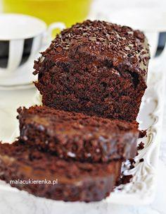 Mega Czekoladowe Proste Ciasto z Ba Healthy Desserts, Delicious Desserts, Yummy Food, Polish Desserts, Afternoon Tea Cakes, Cake Recipes, Dessert Recipes, Cookies And Cream Cake, Types Of Desserts