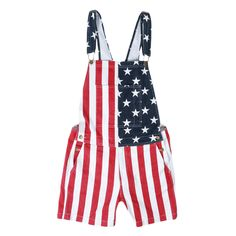 4th of july overalls