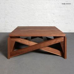 Duffy London - MK1 Transforming Coffee Table Wood | Mini