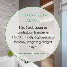 További tippek és trükkök a https://ift.tt/2rzJeuh oldalon. #LakberendezzunkOkosan #lakberendezés #fürdőszoba #konyha #szekrény #lakberendezésiötletek