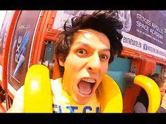 Nuestros gritos en Six Flags - Los polinesios en el parque de diversiones