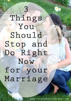 3 Things You Should Do Right Now for Your Marriage #happywivesclub