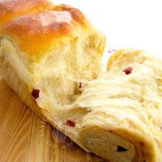 Cranberry bread ~ Tangzhong