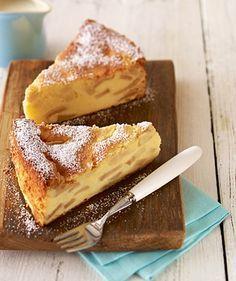 Ein saftiger Apfelkuchen mit Quark zum Geburtstag oder anderen Festen. Im glas!!!