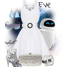 """""""Eve - Disney Pixar's Wall-E"""" by rubytyra on Polyvore"""