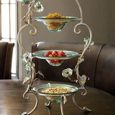 Janice Minor Three-Tier Morning Glory Stand