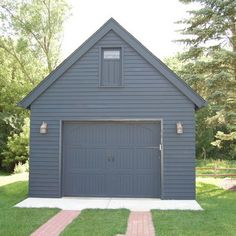 Garage And Shed Detached Garage Design, Pictures, Remodel, Decor and Ideas - page 2