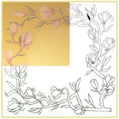 батик цветы платок - Поиск в Google