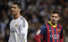 Madrid [Spain], Real Madrid star striker Cristiano Ronaldo has beaten Barcelona star Lionel Messi to clinch the Ballon d'or award for the fourth time.Ronaldo lifted the coveted award after inspiring Zinedine Zidane's side to the Champions Leagu Messi Y Ronaldo, Messi Vs, Cristiano Ronaldo Lionel Messi, Fc Barcelona, Barcelona Vs Real Madrid, Xavi Hernandez, Camp Nou, Fifa, Barca Real