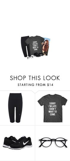 """""""rose."""" by basilizk ❤ liked on Polyvore featuring Lucas Hugh and NIKE"""