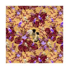 Sheep in red savanna  instagram.com/tseihadesign  #design #illustration #illustrationart #botanicalgarden #botanical #botanicalillustration #art #artist #sheep #loveart #loveanimal #draw #digitalart #digitaldrawing #digitalpainting #surfacepattern #surfacedesign #seamlesspattern #designer