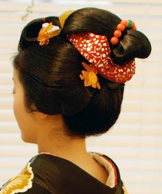 Japanese Woman's Hair Knot