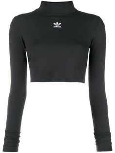 Shop now Adidas Adidas Originals Styling Complements crop top for at Farfetch UK. Crop Top Outfits, Sporty Outfits, Teen Fashion Outfits, Athletic Outfits, Trendy Outfits, Cute Outfits, Denim Crop Top, Cropped Tops, Crop Top Shirts