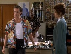 I have asked myself before and I will ask again: Why am I not Quoting Ace Ventura on a daily basis?