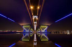 Al Garhoud bridge,Dubai by -Siep-, via Flickr