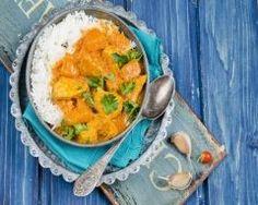 Curry de poulet au potimarron