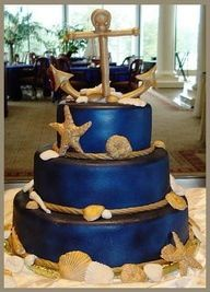 Anchors, bows, nautical, navy and pink or red wedding theme!