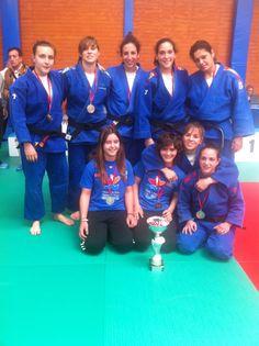 El Club de Judo Valencia Terra i Mar-UPV, subcampeonas de España