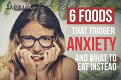 There are certain foods that are known to trigger anxiety and other unwanted mental states and in this article you will discover what they are. Foods That Cause Anxiety, Foods For Anxiety, What Causes Anxiety, Brain Health, Mental Health, Women's Health, Body Cells, Thyroid Problems, Neurotransmitters