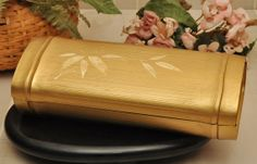 Japanese Lacquered Brush Box  Circa 1950s by DLDowns on Etsy, $69.00